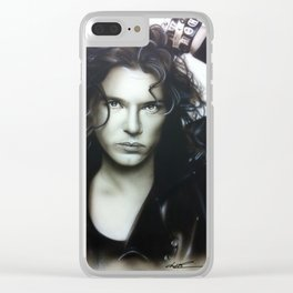 'Michael Hutchence' Clear iPhone Case