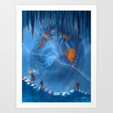 The Furnace Awakens Art Print