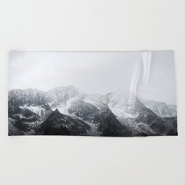 Morning in the Mountains - Nature Photography Beach Towel
