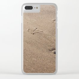 Who Goes There? Clear iPhone Case