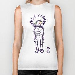 MAYBE - mod. SOCIAL t-shirt uomo/donna Biker Tank