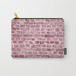 Industrial Urban Vintage Brick Wall Carry-All Pouch