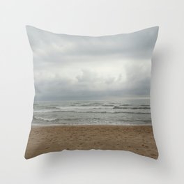 NUDIST TWO Throw Pillow