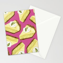 Key lime pie Stationery Cards