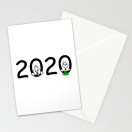 2020 - Miserable year! Stationery Cards