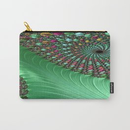 Carnival Green Carry-All Pouch