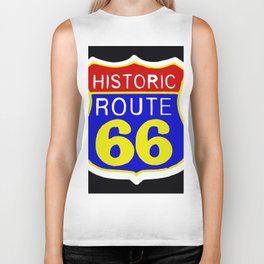 ROUTE 66 Biker Tank