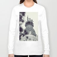 madrid Long Sleeve T-shirts featuring Madrid by Valkyries