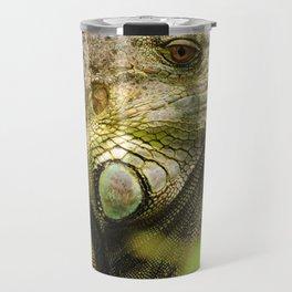 Costa Rican Iguana Travel Mug