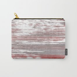 Gray red abstract Carry-All Pouch