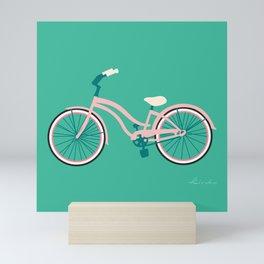 Cruiser Bike: Hidden Lagoon Mini Art Print