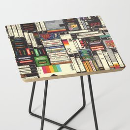 Cassettes, VHS & Games Side Table