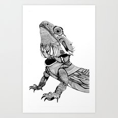 Dragon Art Print