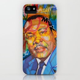 Malcolm X King iPhone Case