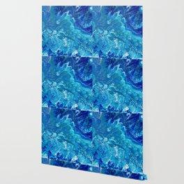 Dark Ocean Blue Wallpaper