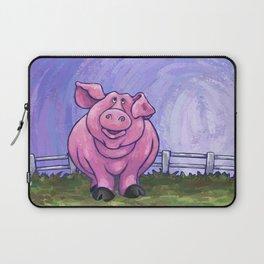 Animal Parade Pig Laptop Sleeve