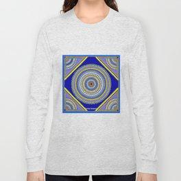 Blue Bom Long Sleeve T-shirt