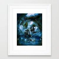 predator Framed Art Prints featuring Predator by va-sily
