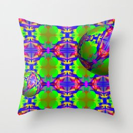 0607 Pattern on the bowls ... Throw Pillow