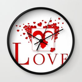 LOVE - Couple Wall Clock