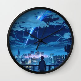 your name Taki Stars Balcony Wall Clock