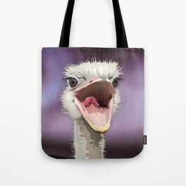The Ostrich's Calling Tote Bag