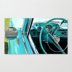 Aqua Interior Canvas Print