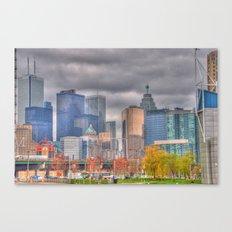 Down Town Toronto Canvas Print