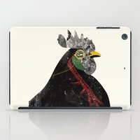 rooster iPad Cases featuring Rooster by Urška Hočevar