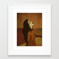 ethnic Framed Art Prints featuring Ethnic.. by Viviana Gonzalez