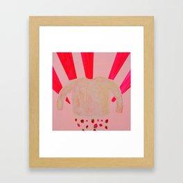 Skin Shirt Framed Art Print
