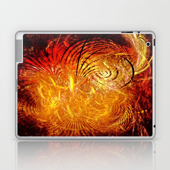 Sun Swirl Laptop & iPad Skin