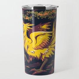 Chocobo with Blossoms Travel Mug