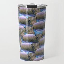 hippo squad Travel Mug