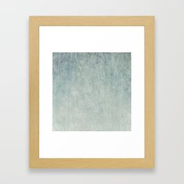 Ice crystals background. Abstract winter background. Framed Art Print