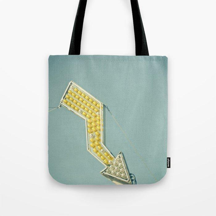 Golden Arrow Tote Bag