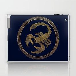 Golden Zodiac Series - Scorpio Laptop & iPad Skin