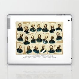 Union Commanders of The Civil War Laptop & iPad Skin