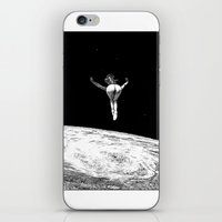 apollonia iPhone & iPod Skins featuring asc 579 - Le vertige (Gaze into the abyss) by From Apollonia with Love