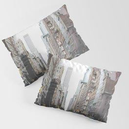 USA Photography - Street In New York City Pillow Sham