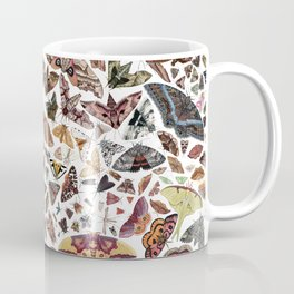 Moths of North Ameica Pattern Coffee Mug