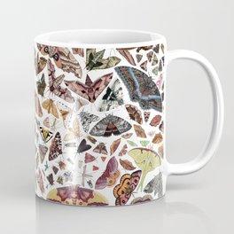 Moths of North America Pattern Coffee Mug