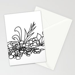 Tropical Garden Path Stationery Cards