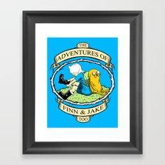 The Adventures of Finn & Jake, Too Framed Art Print