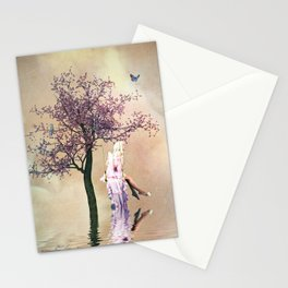 Blossom Angel Stationery Cards