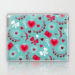 Valentine's Day: Keys to Unlock the Heart Laptop & iPad Skin
