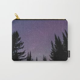 North Woods Starry Night Pines Carry-All Pouch