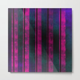 Neon Pink on Ethereal Fog Metal Print