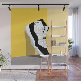 Air Jordan XI Illustration Wall Mural