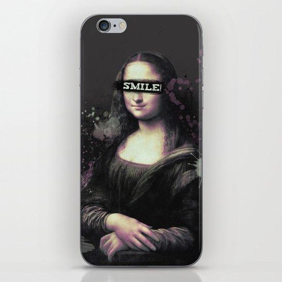 Mona Lisa SMILE iPhone & iPod Skin